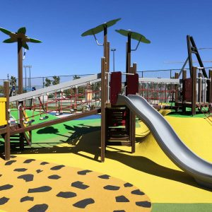 Playgrounds and sport equipment